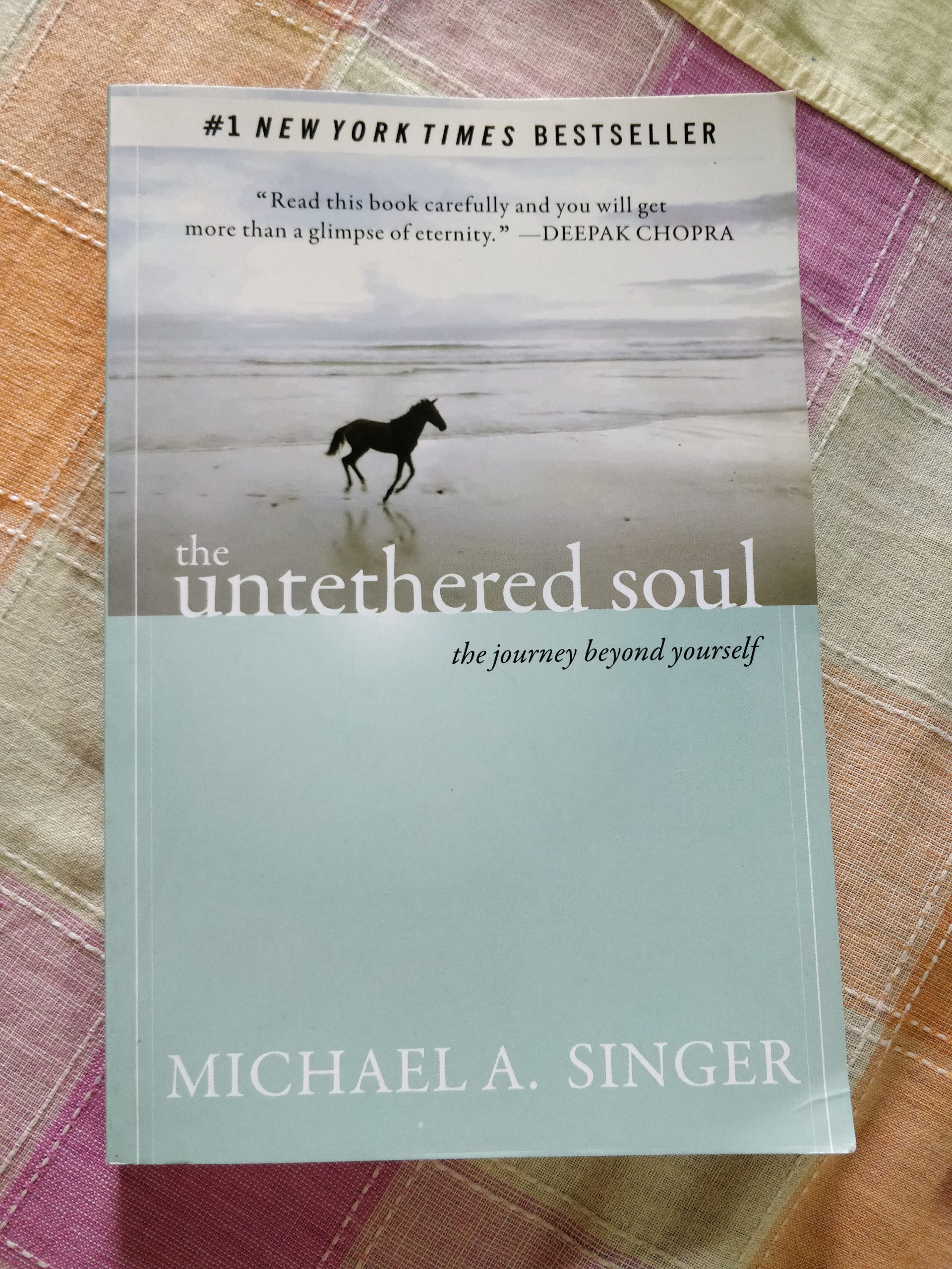 Untethered Soul by Michael A Singer, Spiritual Books