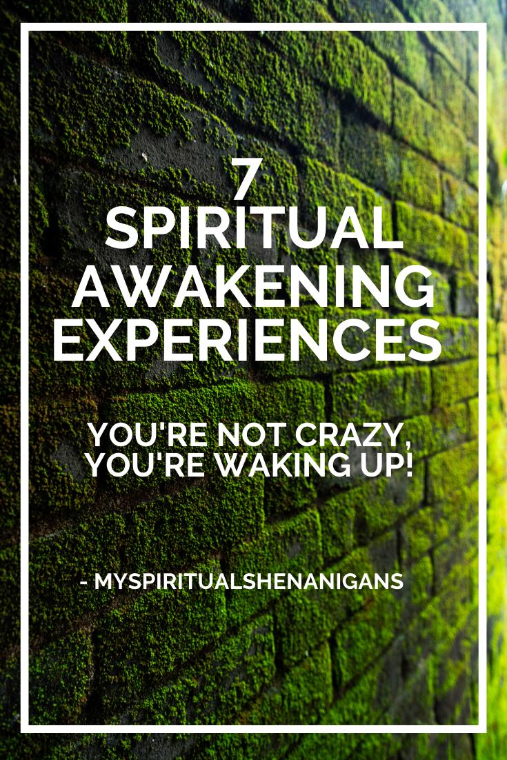 spiritual awakening experiences pin for pinterest