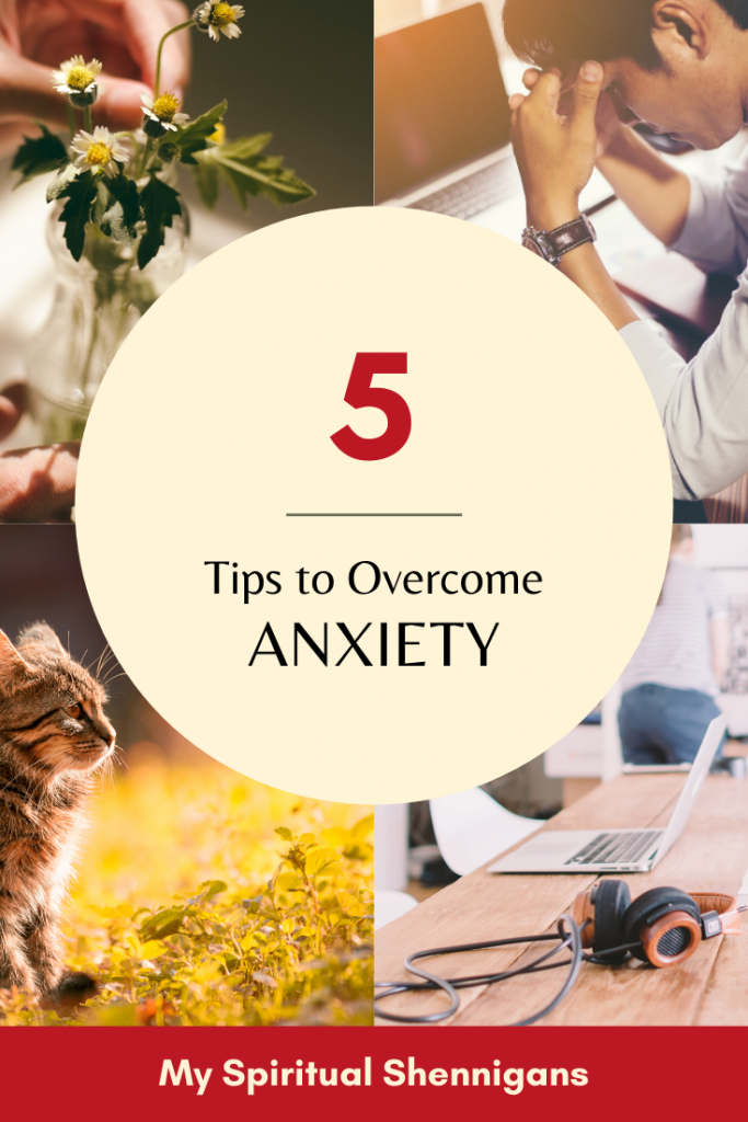5 Tips to Overcome Anxiety with Present Moment Awareness