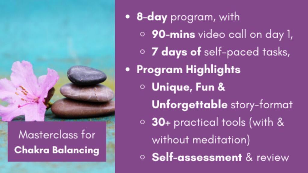 Chakra Balancing Digital Spiritual Workshop