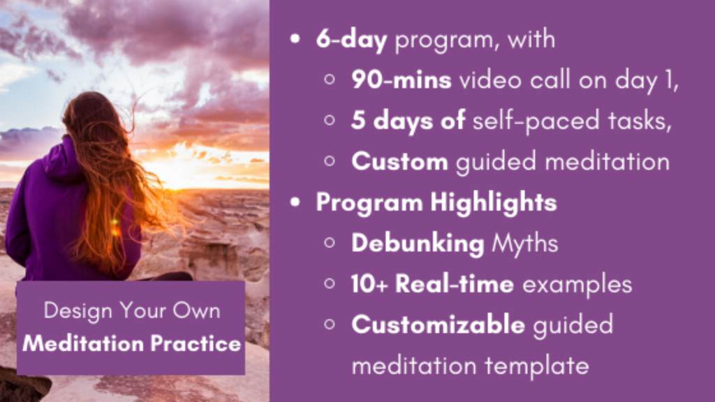 How to Design Your Own Meditation Practice